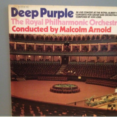 DEEP PURPLE - CONCERTO FOR GROUP AND ORCHESTRA (1969/EMI/RFG) - disc Vinil - Muzica Rock emi records