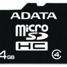 Card de memorie A-DATA microSDHC, 4GB, Clasa 4 - Card memorie foto