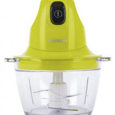 Tocator Oursson CH3010/GA, 300 W, 4 lame, Vas sticla, 0.8 l (Verde)