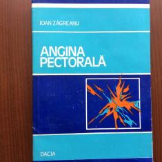 Angina pectorala ioan zagreanu editura dacia cluj napoca 1983 carte medicina