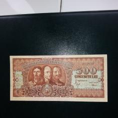 BANCNOTE ROMANESTI 500LEI 1949 XF - Bancnota romaneasca