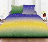 Lenjerie de pat dubla Heinner HR-6BED-144-04, 6 piese, Bumbac (Multicolora)