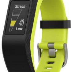 Bratara Fitness Garmin Vivosport, Marimea L, Bluetooth, GPS (Negru/Galben) - Aparat monitorizare