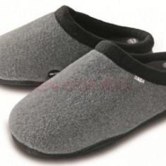 Papuci independenti cu incalzire Daga ZI- 3900. 8.5V, 5W, Incalzire rapida, autonomie 120 min, marimea 37-39 (Gri)