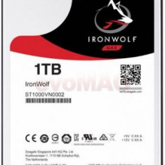 HDD Desktop Seagate IronWolf, 1TB, SATA III 600, 64 MB Buffer