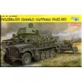 + Macheta Dragon 6732 1/35 - Sdkfz 10/5cm pak 38 +