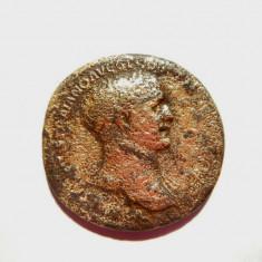 SESTERT TRAIAN GARANTAT ORIGINAL !!! - Moneda Antica, An: 100