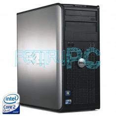 Calculator Intel Core 2 Quad Q6600 2.4GHz 4GB DDR2 2 x 160GB DVD-RW GARANTIE !!! - Sisteme desktop fara monitor Dell, 200-499 GB, 2501-3000Mhz, LGA775