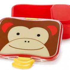Set cutii pentru gustare SKIP HOP Maimutica (Multicolor)