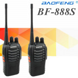 Walkie talkie, statie radio PMR portabila VHF UHF, Baofeng 888s, pachet 2 bucati
