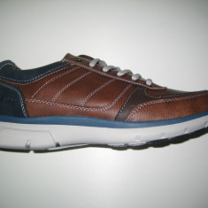 Pantofi barbati WINK;cod LY81983-2;marime:42-46, Marime: 43, 44, 45, Culoare: Maro, Piele sintetica, Casual