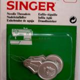 Dispozitiv pentru introducerea atei in ac Singer 3082