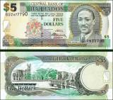 Barbados 2012 - 5 dollars UNC