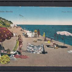 DOBROGEA  TECHIRGHIOL  BAILE  MOVILA   PLAJA   MILITARA   CIRCULATA 1933, Printata