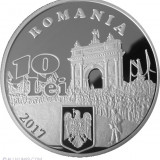 10 LEI140 ANI DE LA PROCLAMAREA INDEPEND ROMANIEI .UNC .PROOF.