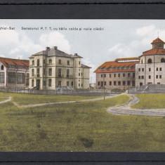 TECHIRGHIOL  SAT SANATORUL P.T.T. CU BAILE  CALDE  SI  NOILE  CLADIRI, Necirculata, Printata
