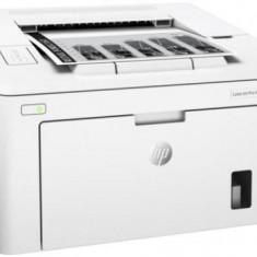 Imprimanta laser alb/negru HP LaserJet Pro M203dn, A4, 28 ppm, Duplex, Retea