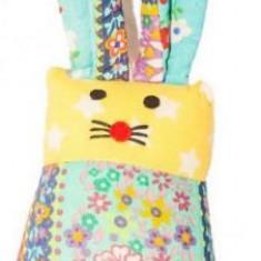 Jucarie Textila U-Grow Hanging Bunny - Jucarie carucior copii