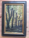 Peisaj semnat Stoik Wührer, Arbori, Ulei, Abstract