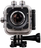 Camera Video de Actiune Smailo Play WiFi, 12MP, Filmare Full HD, WiFi (Argintie)