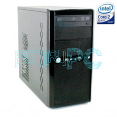 OFERTA! Calculator Intel Core2Quad Q9400 4GB DDR3 250GB DVD-RW GARANTIE 12 LUNI!, Intel Core 2 Quad, 4 GB, 200-499 GB, HP
