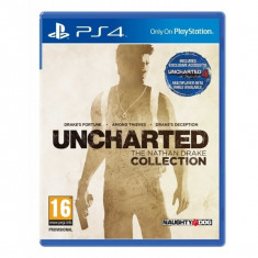 Uncharted The Nathan Drake Collection PS4 - Jocuri PS4, Actiune, 18+, Single player