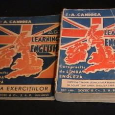 CURS DE LIMBA ENGLEZA+CHEIA EXERCITIILOR-J. A. CANDREA-425 PG- - Curs Limba Engleza