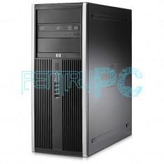 Promotie! Calculator Tower Intel Core2Duo E8500 4GB DDR3 250GB DVD-RW GARANTIE!, Intel Core 2 Duo, 4 GB, 200-499 GB, HP