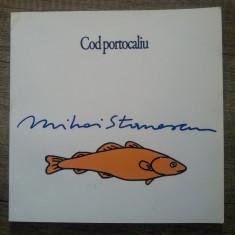 Cod portocaliu- Mihai Stanescu// album caricatura