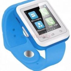 Smartwatch iUni U900i Plus 31245-2, Bluetooth, LCD Capacitive touchscreen 1.44inch (Albastru)