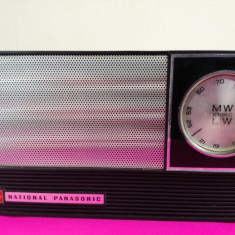 Vintage Radio National Panasonic - Aparat radio