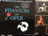 Andrew lloyd webber das phantom der oper disc vinyl lp muzica musical ed germany, VINIL, Polydor