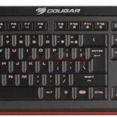 Tastatura Gaming Iluminata Cougar 200K Switch-uri tip SCISSOR (Neagra) - Tastatura PC