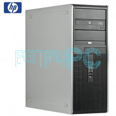 Calculator HP Intel Core 2 Duo E8600 3.33GHz 4GB DDR2 160GB DVD GARANTIE 12 LUNI - Sisteme desktop fara monitor HP, 100-199 GB, 2001-2500 Mhz, LGA775