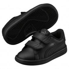 Adidasi Puma Smash V2 L V Inf -Adidasi Originali-Adidasi Copii-365174-01, Marime: 22, 23, 24, 25, 26, 27, Culoare: Din imagine, Unisex, Piele naturala