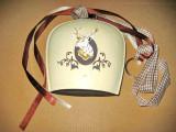 Talanga clopot cap Cerb tabla metal-14/13 cm.
