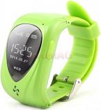 Smartwatch iUni U11, OLED 0.96inch, 2G, GPS, Bratara silicon, dedicat pentru copii (Verde)