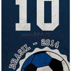 Protectie spate Muvit Brazilia 2014 MUPRBKCIP5S2195 pentru iPhone5/5S/SE