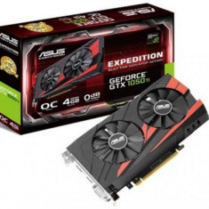 Placa Video ASUS GeForce GTX 1050 Ti EX STRIX GAMING OC, 4GB, GDDR5, 128 bit