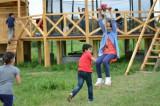 Tiroliana 30-100m pt copii sau adulti pensiune zip line leagan