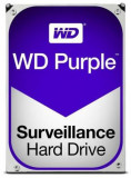 HDD Western Digital Purple, 1TB, SATA III 600, 64MB Buffer - dedicat sistemelor de supraveghere, Western Digital