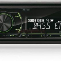 Radio MP3 player auto Alpine UTE-81R, USB, AUX, iluminare taste Verde