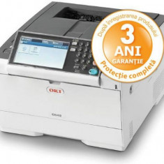 Imprimanta laser color OKI C542dn, A4, 30 ppm, Duplex, Retea