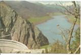 (A)carte postala(ilustrata)-ARGES-barajul hidrocentralei, Necirculata, Fotografie