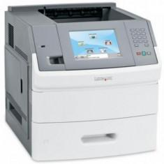 Imprimanta Refurbished laser alb-negru Lexmark T656DNE, A4, 55 ppm, Duplex, Retea