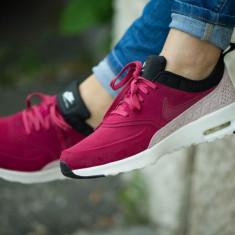 Nike WMNS Air Max Thea Premium Leather COD: 845062/600 - Produs Original - NEW! - Adidasi dama Nike, Culoare: Din imagine, Marime: 38.5, Piele intoarsa