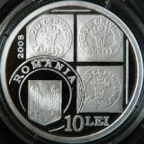 10 LEI 2008 CAP DE BOUR  100 ANI  .UNC .PROOF.