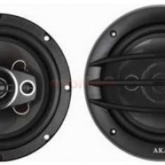 Difuzoare auto coaxiale Akai CA007A-CV654C, 16 cm, 4 cai, 120W