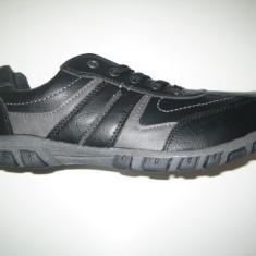 Pantofi barbati WINK;cod FG7001-1;marime:41-46, Marime: 42, 43, Culoare: Negru, Piele sintetica, Casual
