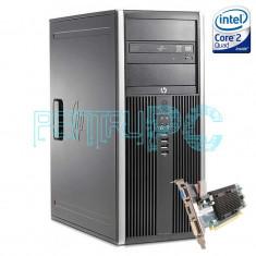 Calculator Intel Core2Quad Q9550 2.83 GHz 4GB DDR3 250GB HD5450 HDMI GARANTIE ! - Sisteme desktop fara monitor HP, 200-499 GB, 2501-3000Mhz, LGA775